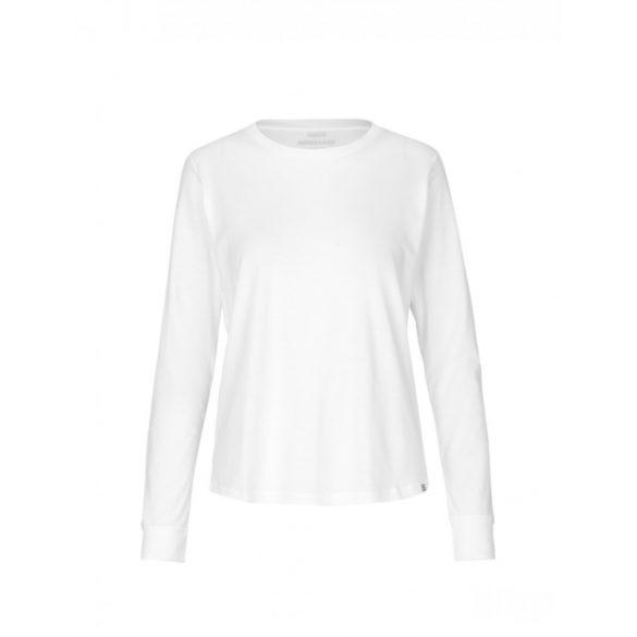 Mads  Nørgaard ● Organic Favorite Trimmy ● fehér hosszú ujjú póló