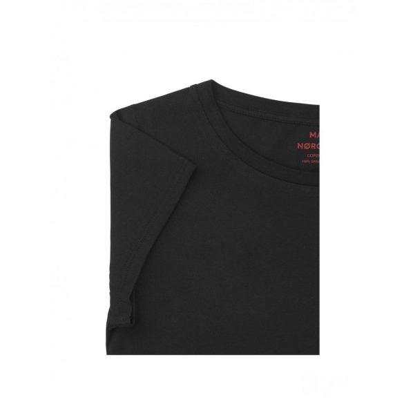 Mads  Nørgaard ● Organic Favorite Teasy ● fekete rövid ujjú pamut póló