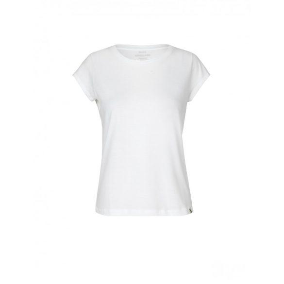 Mads  Nørgaard ● Organic Favorite Teasy ● fehér rövid ujjú pamut póló
