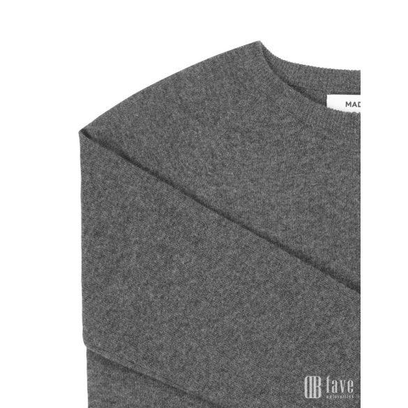 Mads Nørgaard ● Cosy Wool Kaxa ● sötétszürke gyapjúpulóver