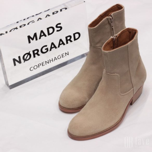 Mads Nørgaard ● Full Grain Devon  ● drapp hasított bőr bokacsizma