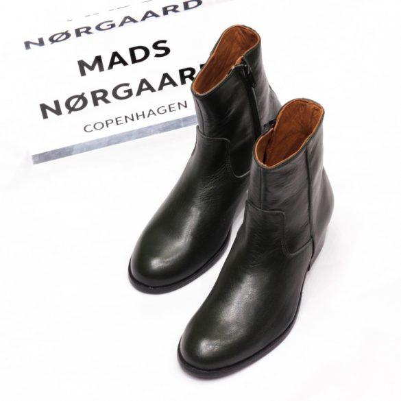Mads Nørgaard ● Full Grain Devon ● sötétzöld bőr bokacsizma