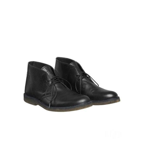 Mads Nørgaard ● Leather Desert Caspian ● fekete cipő