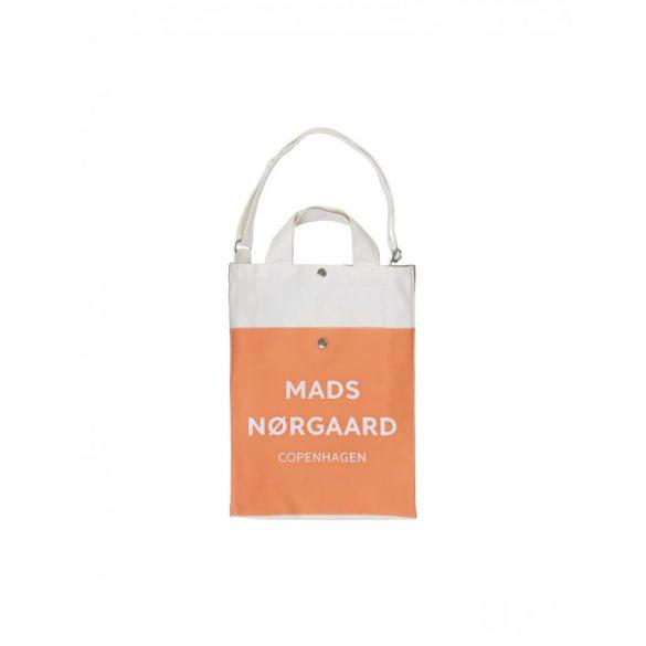 Mads  Nørgaard ● Töte Bag L ● krémszínű vászontáska (narancs)