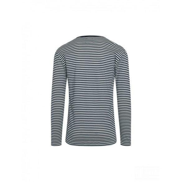 Mads Nørgaard ● Tobias Long Duo Rib ● sötétkék csíkos hosszú ujjú póló