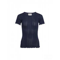 Mads Nørgaard ● Pointella Trixa ●  kék törtmintás rövid ujjú póló