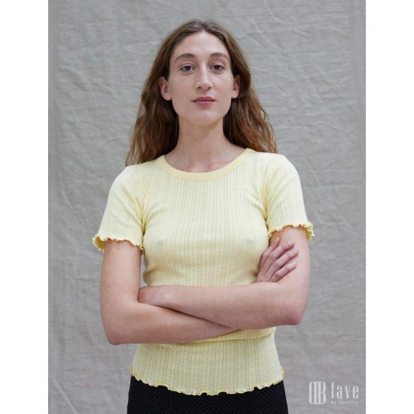 Mads Nørgaard ● Pointella Trixa ● törtfehér törtmintás rövid ujjú póló