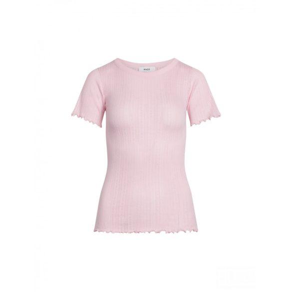 Mads Nørgaard ● Pointella Trixa ●  rózsaszín törtmintás rövid ujjú póló