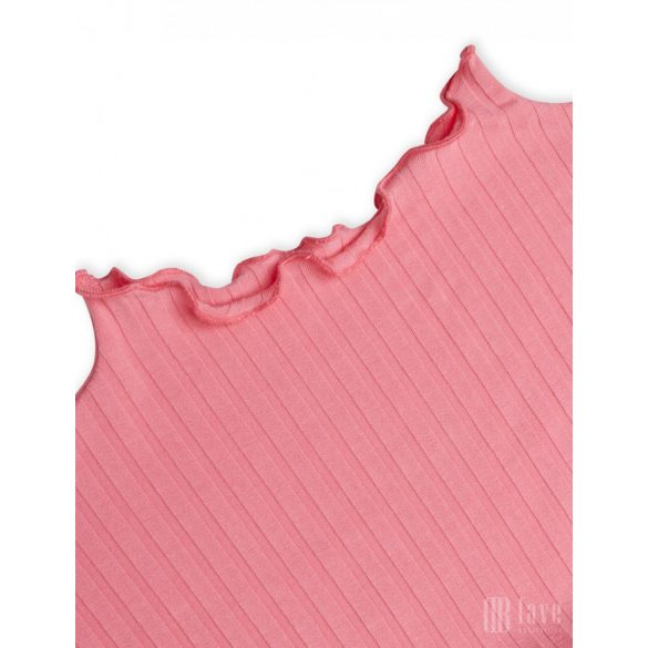 Mads  Nørgaard  ● Trutte 5*5 Solid Rib ● rózsaszín hosszú ujjú garbó