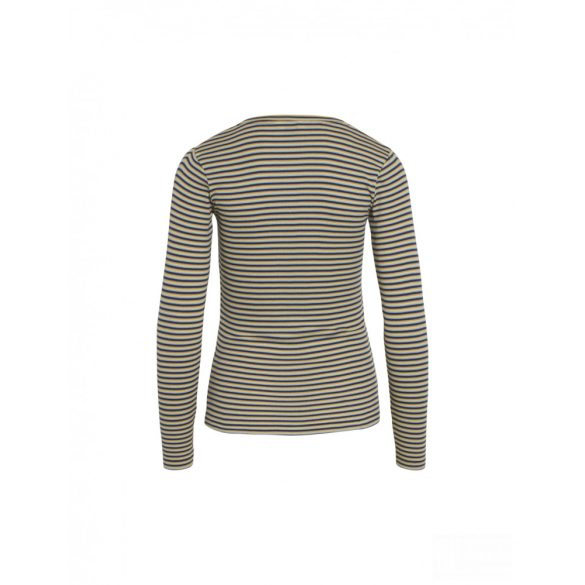 Mads  Nørgaard ● Tuba 2*2 Soft Stripe  ● kék csíkos hosszú ujjú póló
