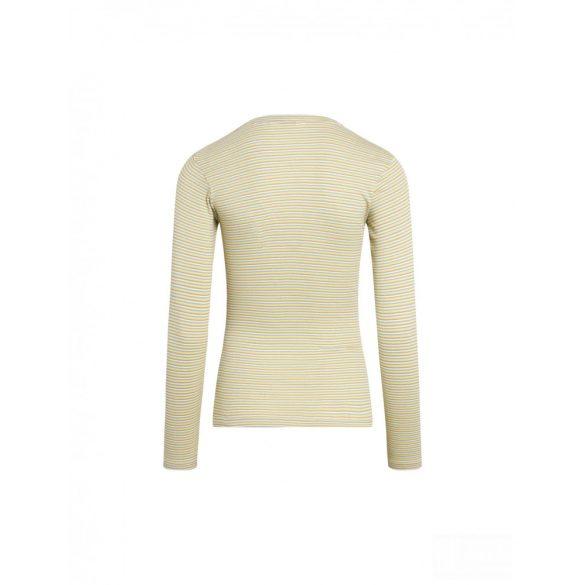 Mads  Nørgaard ● Tuba  2*2 Soft Stripe ● sárga csíkos hosszú ujjú póló