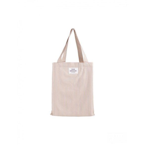 Mads Nørgaard ● Sacky Atoma ● drapp és fehér csíkos táska