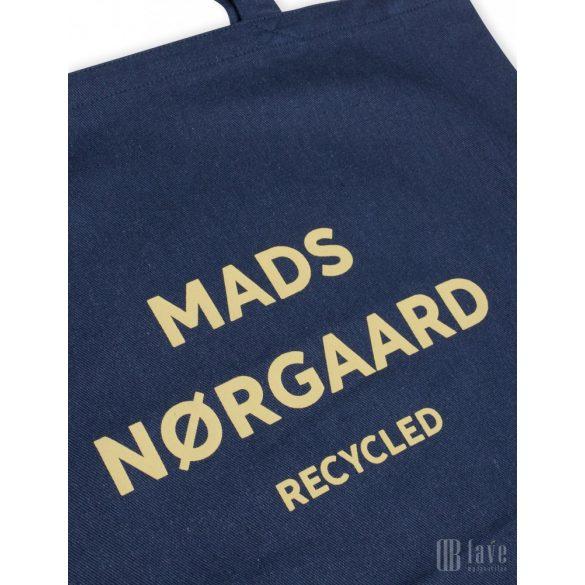 Mads  Nørgaard  ● Recycled Boutique Atheno ●  sötétkék vászon válltáska