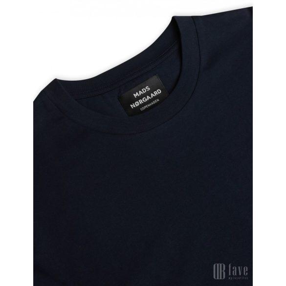Mads  Nørgaard ● Organic Twin Kozak ● sötétkék rövidujjú póló