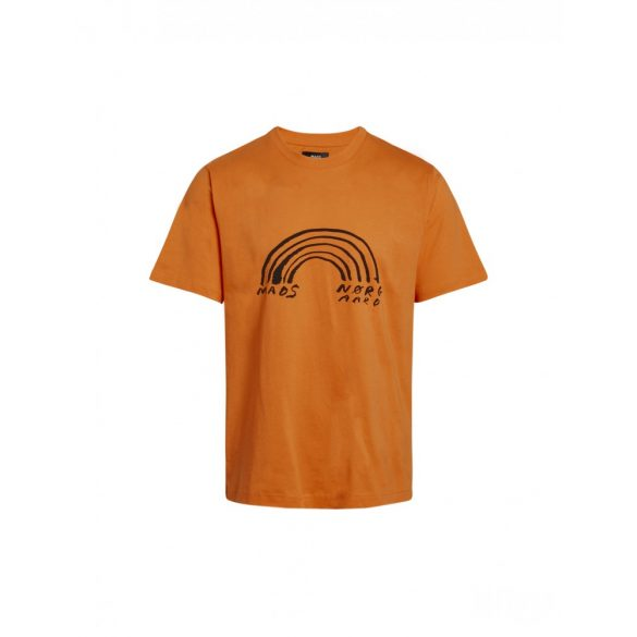 Mads  Nørgaard ● Organic Twin Kozak ● narancssárga rövidujjú póló