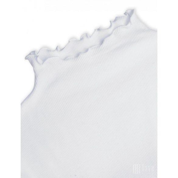 Mads  Nørgaard  ● Thora 2*2 Cotton Rib ● fehér hosszú ujjú garbó