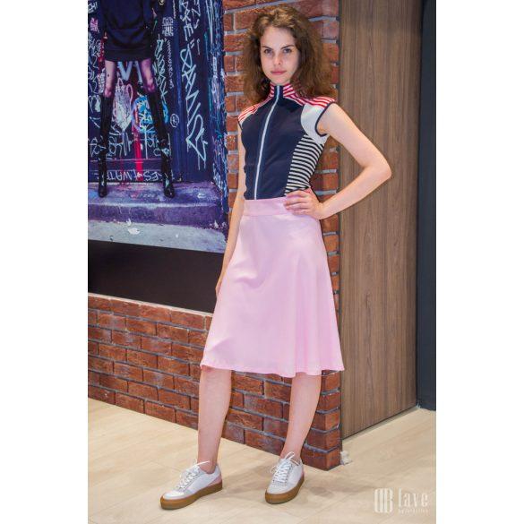 Mads Nørgaard ● Crepe Georgette Stelly ● rózsaszín midi szoknya