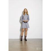 Mads  Nørgaard ● Cotton Tweed Stelly ● fekete fehér kockás mini szoknya