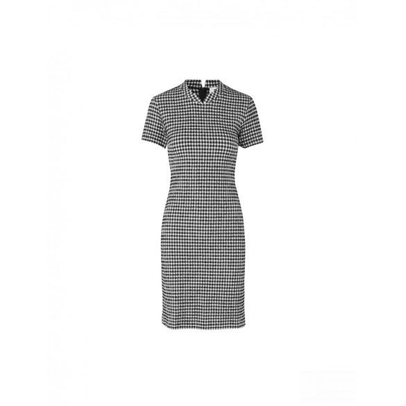 Mads  Nørgaard ● Seersucker Stretch Designa ● fekete fehér kockás ruha