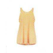 bf91ff5ffc ... Bretagne Organic Thilke ○ 7/8 ujjú ekrü alapon sötétkék csíkos póló. 17  430 Ft. Mads Nørgaard ○ Bunella ○ narancssága és fehér csíkos pántos top