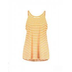 Mads Nørgaard ● Bunella ● narancssága és fehér csíkos pántos top