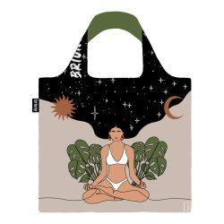 Briony ● Yoga girl and sky ● újrahasznosított táska
