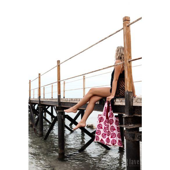 Briony ● Pomegranate ● újrahasznosított táska