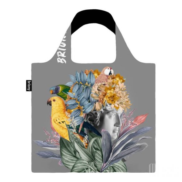 Briony ● Statue & birds ● újrahasznosított táska
