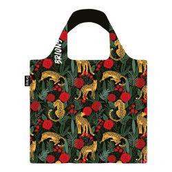 Briony ● Leopard & roses ● újrahasznosított táska