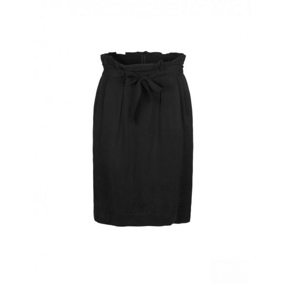 Samsøe & Samsøe ● Yael ● fekete cupro hagymaszoknya