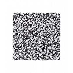 Samsøe & Samsøe ● Bien ● fekete virágmintás selyem kendő