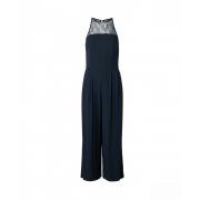 Samsøe & Samsøe ● Bina ● sötétkék ujjatlan csipkés 7/8 overál