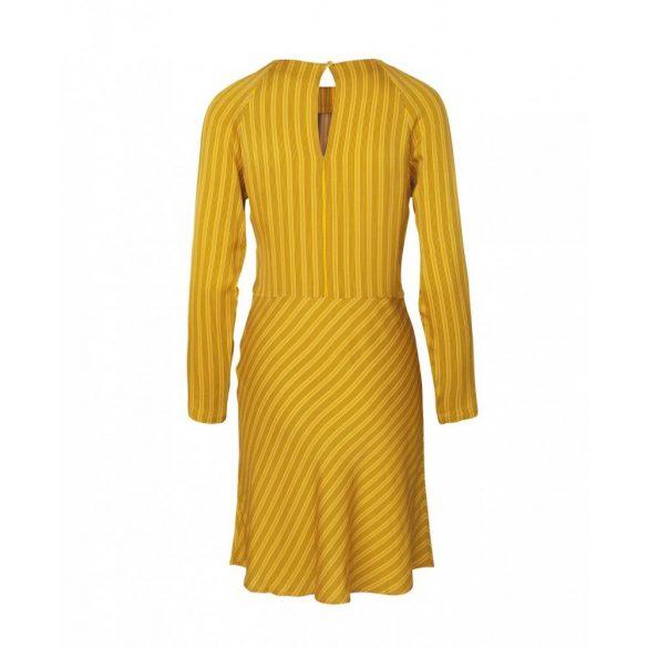 Samsøe & Samsøe ● Zambia ● sárga színű csíkos hosszú ujjú ruha