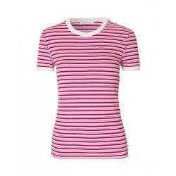 Samsøe & Samsøe ● Nelly ● rózsaszín csíkos rövid ujjú póló