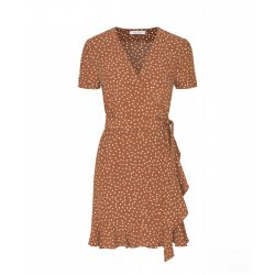 Samsøe & Samsøe ● Linetta ● barna alapon fehér pettyes mini ruha