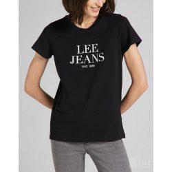 Lee ● Graphic Tee ● fekete rövid ujjú póló