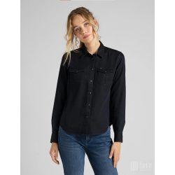 Lee ● Regular Western Shirt ● sötétkék hoszú ujjú ing