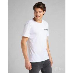 Lee ● SS Tonal Logo Tee ● fehér rövid ujjú póló
