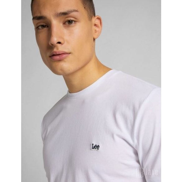 Lee ● Patch Logo Tee ● fehér rövid ujjú póló