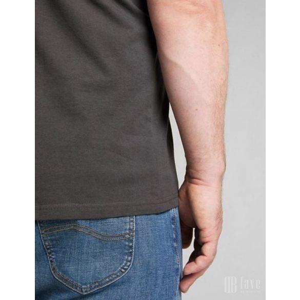 Lee ● Patch Logo Tee ● fekete rövid ujjú póló