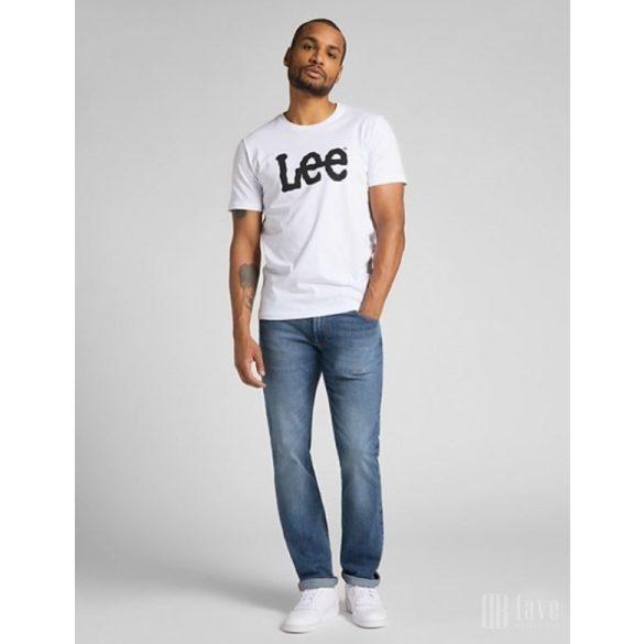 Lee ● Wobbly Logo Tee ● fehér rövid ujjú póló