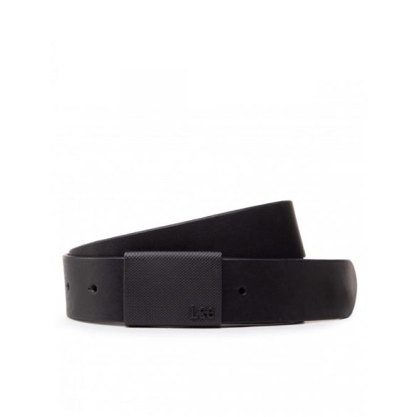 Lee ● Buckle Belt ● fekete bőröv