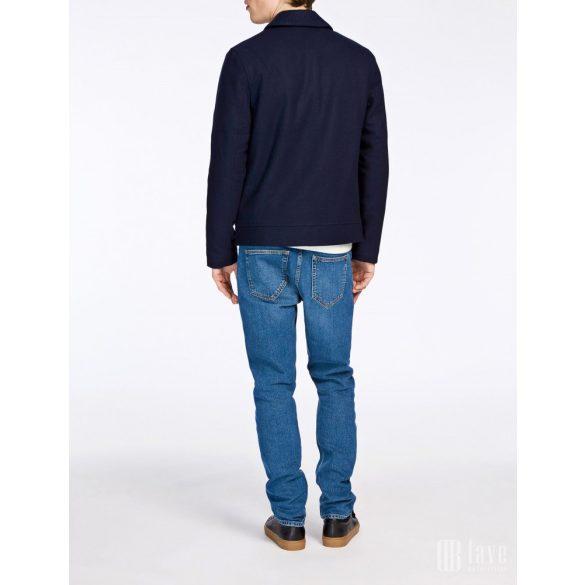 Samsøe & Samsøe ● Mock ● sötétkék gyapjú téli dzseki