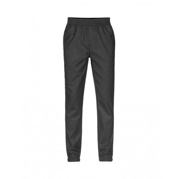 Samsøe & Samsøe ● Smith ● fekete melange gyapjú nadrág