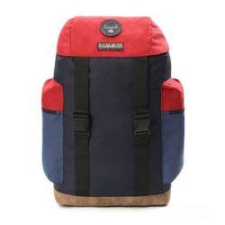 Napapijri ● Hoyage Pack ● sötétkék és piros hátizsák