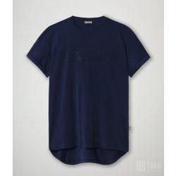 Napapijri ● Siccari ss ● kék feiratos rövid ujjú póló