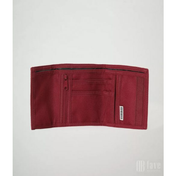 Napapijri ● Happy Wallet 2 ● bordó pénztárca