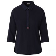 Napapijri ● Enora ● sötétkék 3/4 ujjú ingblúz