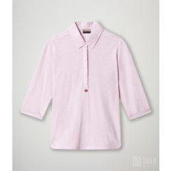 Napapijri ● Enora ● rózsaszín 3/4 ujjú ingblúz