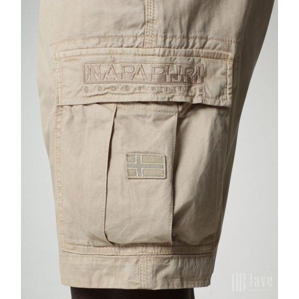 Napapijri ● Nostran ● drapp zsebes bermuda